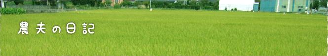久保さんちのお米「農夫の日記」